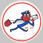 Mr. Zip , 1960-1980